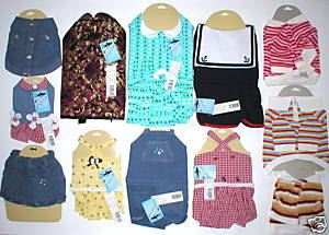 WHOLESALE LOT 11 DOG CLOTHES ANIMAL PET CLOTHING RESALE