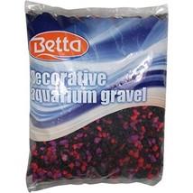 Betta Aquarium Fish Tank Gravel Substrate 5lb Bag, in Cherry Berry, all ... - $18.33