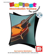 Easiest Mandolin Tunes For Children/Book w/CD Set/New - $12.95