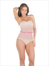 Waist Cincher with Latex/Lateral rods for shaping waist and avoid rolling - $31.34
