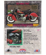 Champs American Vintage Cycles Prototype Dealer Promo Card #147 Skybox 1... - $2.99