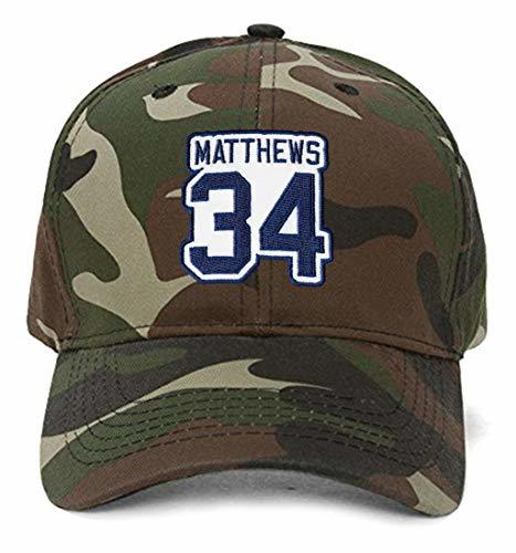 Auston Matthews #34 Hat - Toronto - Adjustable Unisex Camo Hockey Cap