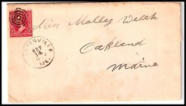 1900 Chesterville, ME Discontinued/Defunct Post Office (DPO) Postal Cover - $9.95