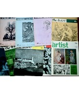 9 Issues of The Artist Magazine 1960  > 1973 - $23.65