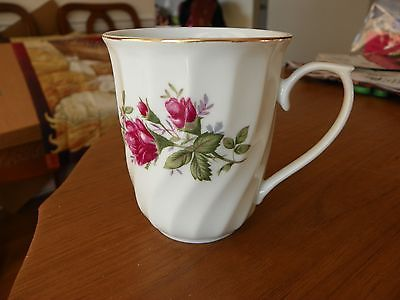 Vintage CCA LYNNS Fine China Tall CUP Dark Pink Rose Gold Trim Pattern & Vintage CCA LYNNS Fine China Tall CUP Dark and 50 similar items