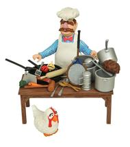 DIAMOND SELECT TOYS The Muppets: Swedish Chef Deluxe Figure Set - $20.98