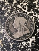 1900 Great Britain 1 Shilling Lot#Z2026 Silver! - $14.03