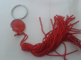 Fourth Pentacle of Mars Key ring .Of great power of towards bringing vic... - $19.99
