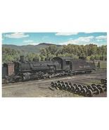 Denver Rio Grande Western Railroad K36 2-8-2 Locomotive 488 LARGE Postca... - $9.95
