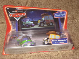 DISNEY PIXAR CARS BUZZ & WOODY  Movie Moments Factory sealed package. - $22.99