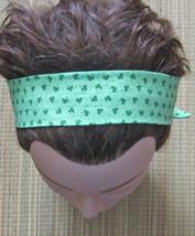Hairband Shamrocks/St Pats Day/Celtic/With Elastic/Handmade! - $7.00