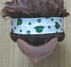 Hairband Shamrocks/St Pats Day/Hats/With Elasti... - $7.00