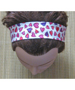 Hairband Hearts/Valentines Day/With Elastic/Han... - $7.00