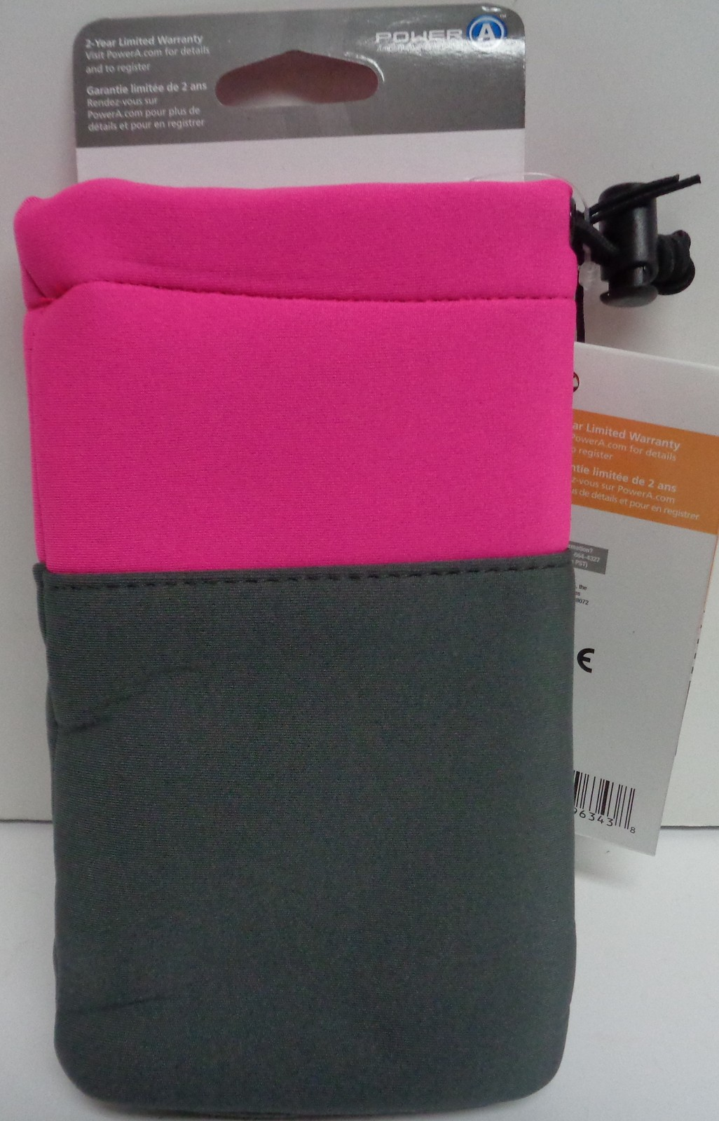 NINTEND O3DS NEON PINK TOGGLE CASE NWT