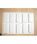 Antique Brick Veneer Molds (10) Make 100s of Brick Veneer Wall & Floor T... - $39.99