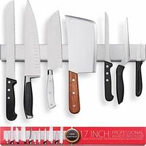 Restaurant Bar Block 17 Inch Stainless Steel Magnetic Knife Holder Shipp... - $51.25 CAD