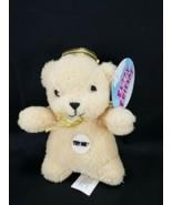 Fuzzy Friends Angel Brown Teddy Bear Says the Lords Prayer Plush Stuffed... - $11.87