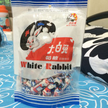 New White Rabbit Creamy Chewy Candy Thai Sweety Dessert Edible Rice Coated Paper - $12.86