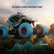 DE32 2.4Ghz Remote Control Off Road Racing Monster Truck Crawler 1/20 Scale image 4