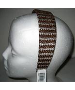 Macy's Headband brown tweed sparkle NEW - $6.00