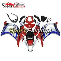 White Blue Red Fairings For Kawasaki 2011 12 13 14 2015 ZX10R ABS Inject... - $304.45