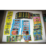 1989-90 Teenage Ninja Turtles Cartoon Series One & Two Plus Stickers Lot - $4.99