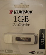 Kingston Technology DataTraveler 1GB USB 2.0 Flash Drive (Wh - $12.50