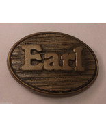 EARL Name Oden Made in USA Vintage Belt Buckle ap7 - £12.92 GBP