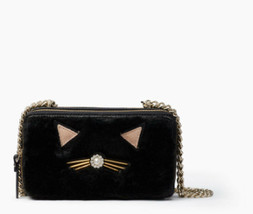 Kate Spade Marigold crosbody Birghton Lane Cat  clutch bag adel double zip - $79.99