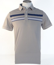 Tommy Hilfiger Golf Gray Short Sleeve Polo Shirt Mens NWT - $74.99