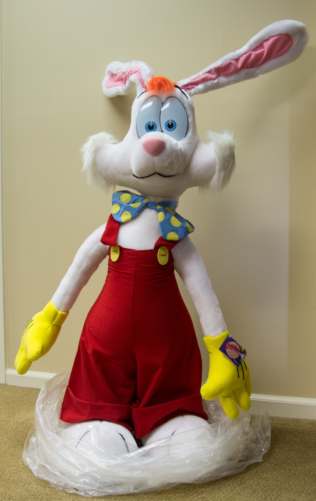 Roger Rabbit 4 Feet Tall 1988 Plush Display And 50 Similar Items