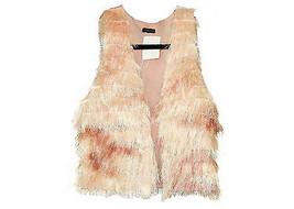 J Crew Martinete Maribou Feather Vest Sz Small ... - $158.39