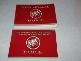 2000 Buick Regal Owners Manual With Binder - $16.00