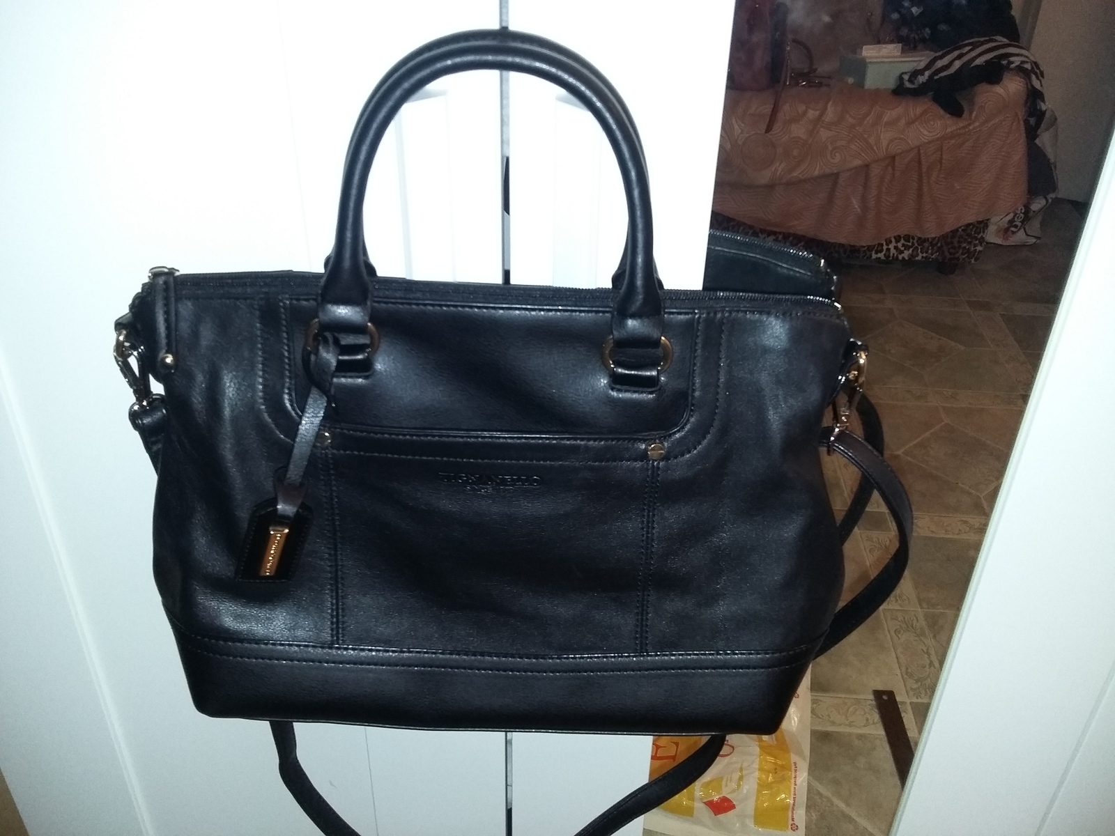 f1eda8ba40 20160206 232856. 20160206 232856. Previous. Beautiful Tignanello Smooth  Operator Convertible Satchel Top Handle Leather Bag