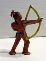 Cast Iron Figurine,  Native American Old West I... - $37.22