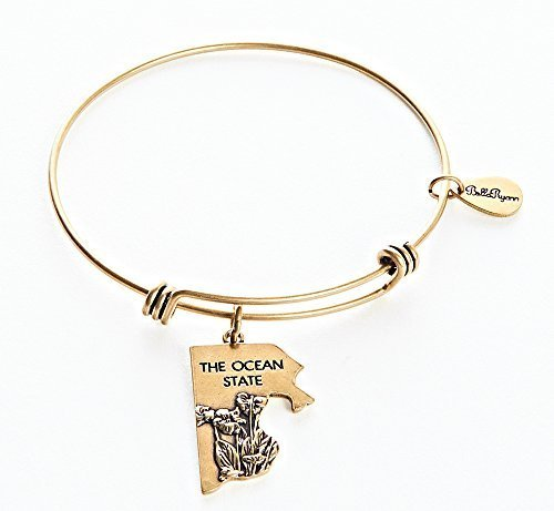 Rhode Island Charm Bangle Bracelet [Jewelry]
