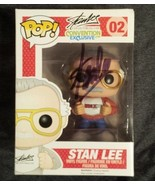 Stan Lee Hand Signed Fan Expo Rare Funko Pop Action Figure OFFICIAL COA ... - $1,199.99