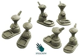 Spellcrow Game Accessories The Young Race Tau Objective Counters