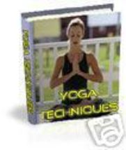 YOGA/ energy/posture/well/spiritual/chakra/e-book on cd - $1.50