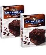 Ghirardelli Dark Chocolate Brownie Mix, 20-ounce Boxes (Pack of 2) - $288,29 MXN
