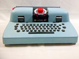 Vintage Louis Marx Junior Typewriter Unique Toys IBM Lookalike Dial 1950's  - $18.94