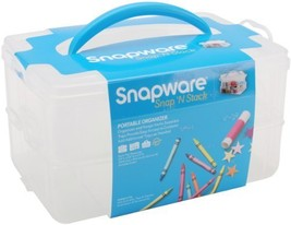 Snapware Snap 'N Stack 6.6-Inch by 9.8-Inch Storage Container, Rectangle - $16.45