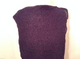 NWT Coyote Moon 100% Poly Dark Violet Scarf Wrap image 4