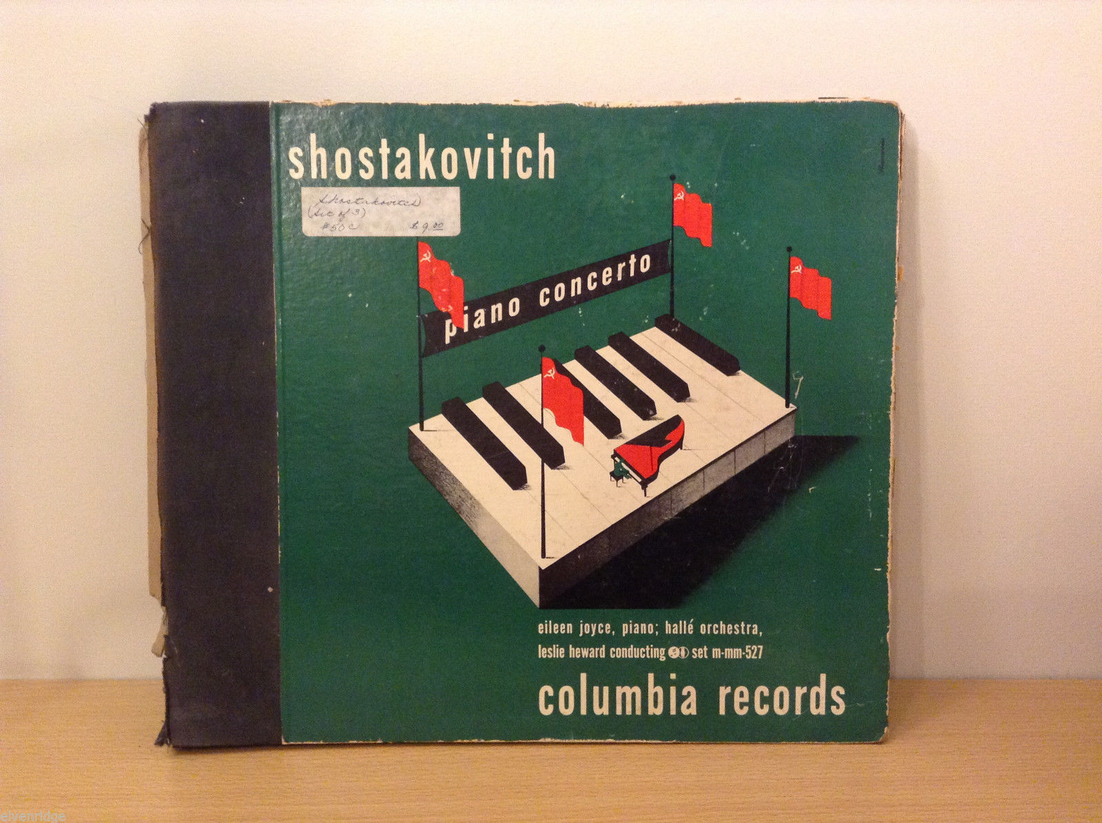 Shostakovich Concerto for piano and orchestra op. 35 columbia records