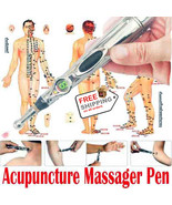 Acupuncture Electric meridians Laser Energy Pen Massager Magnet Therapy - $23.99