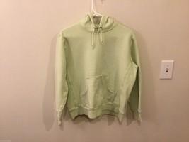 Womens Champion Pale Green Hooded Sweatshirt, Size XL