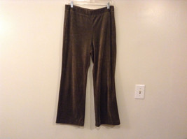 Womes Jones New York Signature Olive Green Spot Hoodie and Pants Set Size M/L image 4