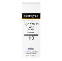 New Neutrogena Age Shield Face Oil-Free Sunscreen - Free Shipping - $20.00