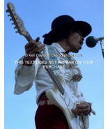 Jimi Hendrix 8x12 Photo Print at The 1968 Miami Pop Festival Daytime - $99.00