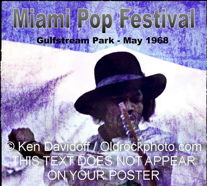 Miami Pop Festival Crossoverart 12x18